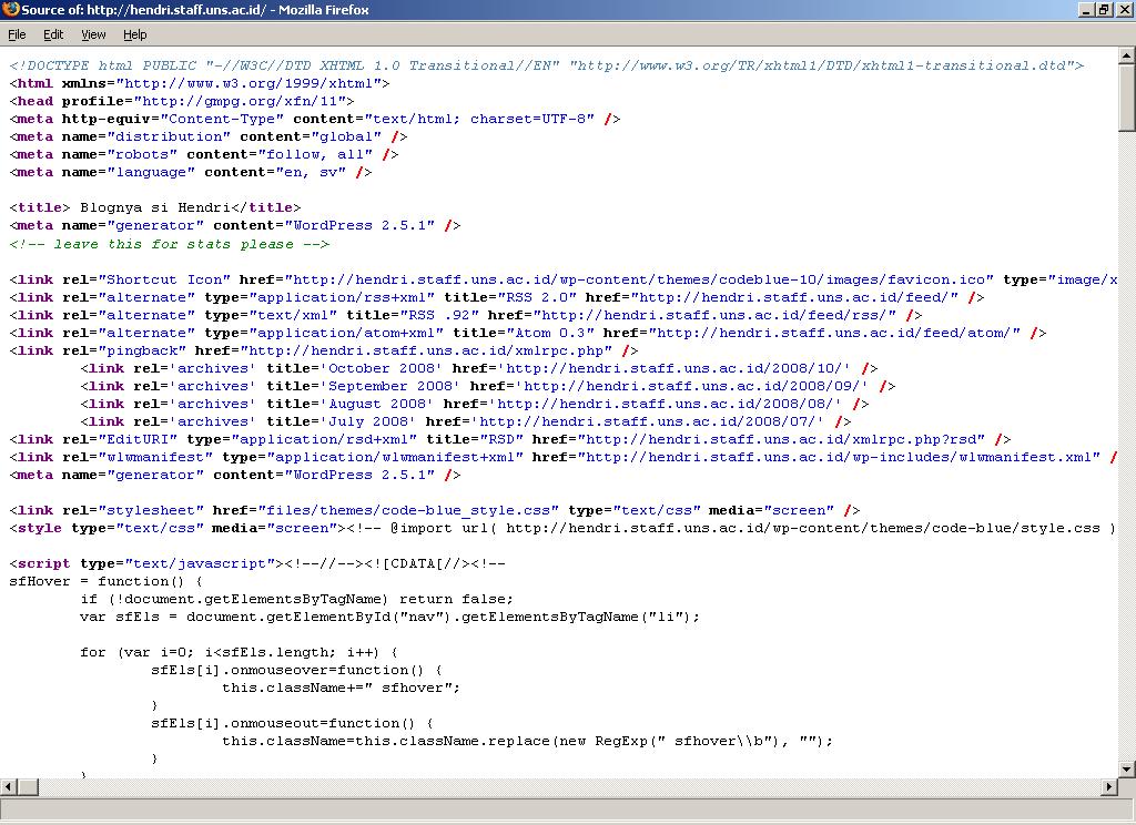 """Mencuri"" Kode Widget Blog"